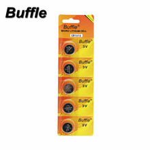 Buffle 5pcs/pack 3V CR1616 Button DL1616 ECR1616 LM1616 Cell Coin Lithium Batteries For 3D Glasses