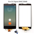 For LG Spirit H442 H440 H440N H440T LCD Display Touch Screen Digitizer Assembly + Tools , Black Free shipping