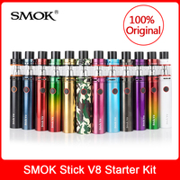 Original SMOK Stick V8 Kit with Built in 3000mah battery+ V8 Big Baby Tank 5ml+Coils Electronic Cigarette smok stick v8 vape pen