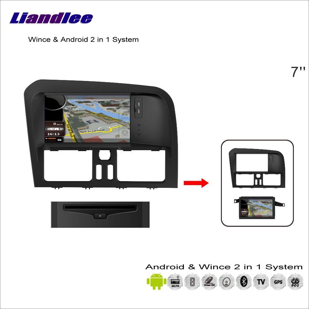 Liandlee Car Android Multimedia Stereo For Volvo XC60 2008~2013 Radio BT CD DVD Player GPS Nav Navi Map Navigation Audio Video