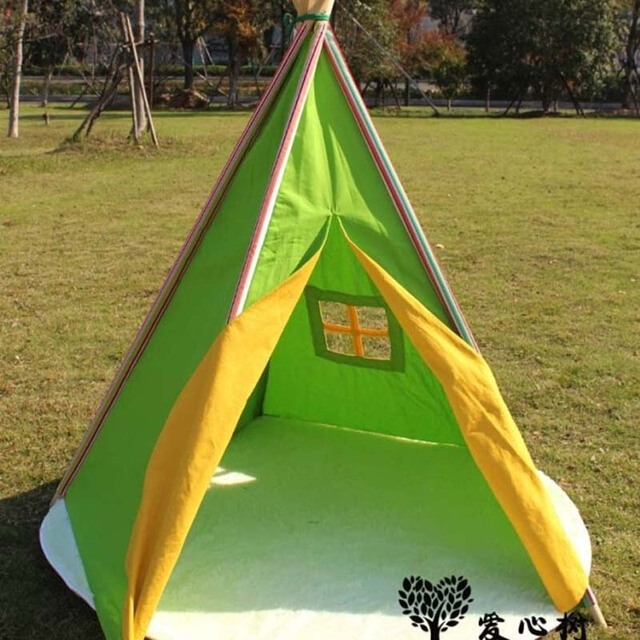 Play Tent teepee green Tree Childrenu0027s Large Dollhouse Game House Shipping Baby Photography Props & Aliexpress.com : Buy Play Tent teepee green Tree Childrenu0027s Large ...