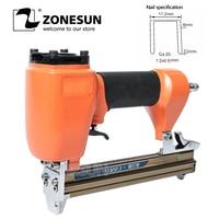 ZONESUN ZS 1022 staple gun Pneumatic micro pinner nailer air brad headless pin gun Furniture Wood Sofa woodworking Stapler Ga20