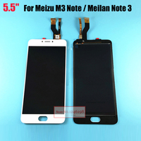 5 5 High Quality Touch Screen Digitizer LCD Display Assembly For Meizu M3 Note Meilan Note