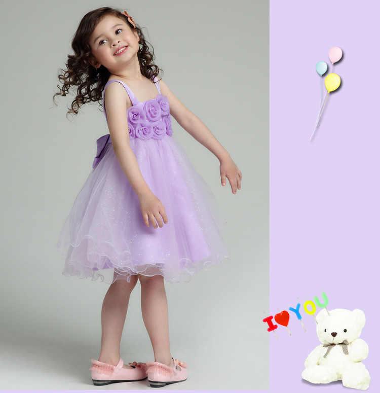 อย่างเป็นทางการดอกไม้สาวชุด Tutu สีขาว Eleghant Princess Vestidos 2019 เสื้อผ้าเด็กสำหรับสาว 8 9 10 11 12 ปี AKF164060