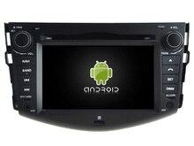 NAVIRIDER Eight Core 4GB RAM Android 6.0.1 car multimedia player for TOYOTA RAV4 2008-2012 car dvd gps BT radio stereo USB