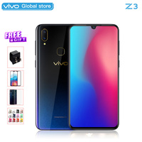 Mobile Phone vivo Z3 Snapdragon 710 Octa Core dual camera LTE Android 8.1 4G/6G+64G/128G 6.3 FHD FingerPrint Smart Cell phone