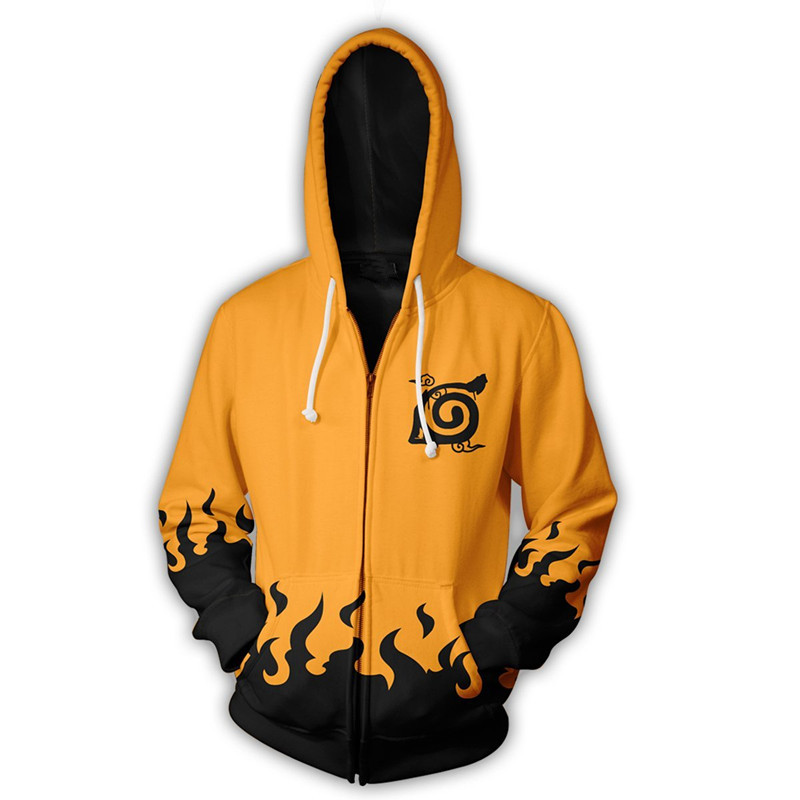 Japan Anime Naruto0 Naruto0 Uzumaki 3D Printed Long sleeve Hoodie Sweatshirt NEW