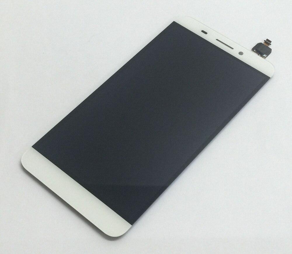 Blanc LCD Full Panneau D'affichage Moniteur Module + Écran Tactile Digitizer Capteur Verre Assemblée pour Letv le une 1X600 X608