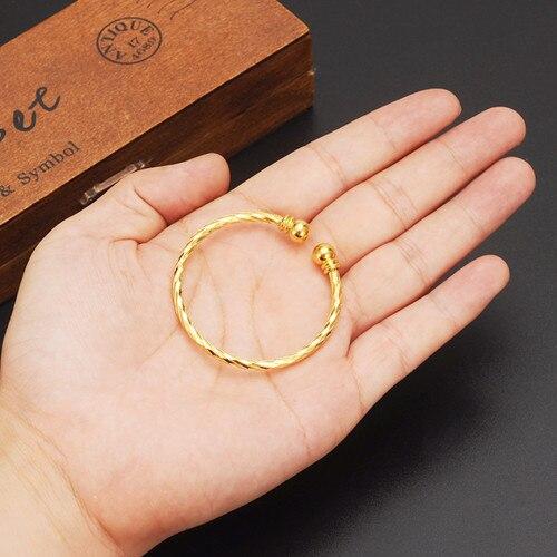 4pcs Dubai Gold Stamp Baby...