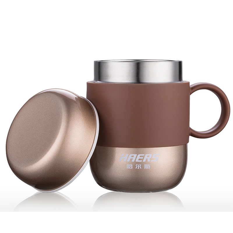 Haers 280ml Candy Color Thermos Stainless Steel Vacuum Flask Cup For Office Lady And Gentlemen Lbg 280 11 In Flasks Thermoses From Home Garden On