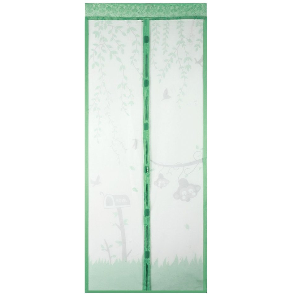 Fly screens for doors and windows - 100 X 210cm Magic Magnetic Insect Door Screen Divider Net Fly Screen Bug Anti Mosquito Mesh