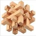 Разведки KongMing Любань Замки Китай Предков Замки Дети Традиционные 3D Деревянный Логические Головоломки IQ Обучающая Игра Игрушка