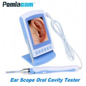 Image 1 - 66C 3 นิ้ว LCD ครอบครัว Healthcare Pocket Otoscope หูจมูกขอบเขตการตรวจสอบ 3.9mm Len Handheld Endoscope กล้องช่องปาก tester