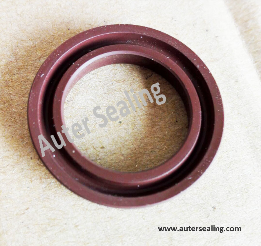 USH 10  Hydraulic Cylinder Pump Rubber Oil Seal For Piston And Rod U Cup Seal 10x18x5 FKM  Viton Gasket