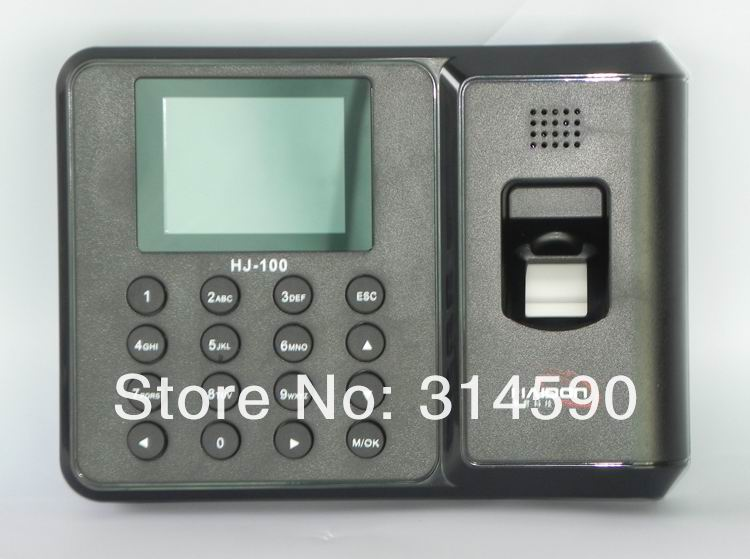 ФОТО No need software!!!! TFT color display USB Self Service Fingerprint Biometric Time Attendance