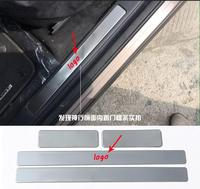 Accessories For Range Rover Evoque 2012 2014 Stainless Steel Inner Outer Door Sill Scuff Plate 8pcs