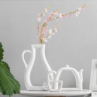 Творческий Цзиндэчжэнь Керамика Посуда для напитков модель Книги по искусству ваза для цветов офисные Desktop украшения Декор дома современны