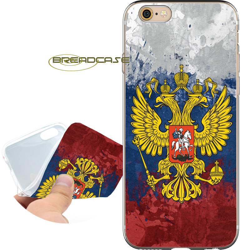 Coque Russian Flag Capa Soft Clear TPU Silicone Phone Cases for iPhone X 8 7 6S 6 Plus 5S SE 5 5C 4S 4 Case iPod Touch 6 5 Cover