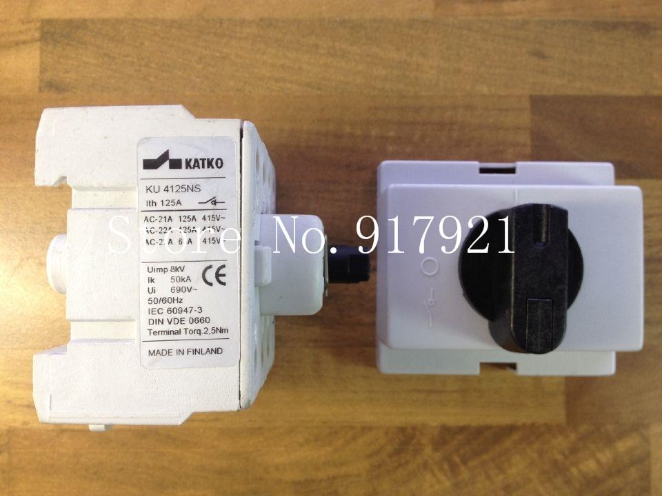 [ZOB] KATKO KU4125NS 4P125A import / switch load switch / switch / safety switch [zob] hagrid eh771 timer switch 1 channel cycle timer switch control switch import import