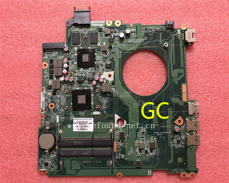 laptop Motherboard For 15-P DAY22AMB6E0 762532-501 762532-001 system mainboard Fully Tested laptop motherboard for dv7 7000 711509 001 711509 501 712183 501 system mainboard fully tested