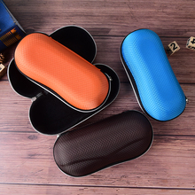 1PC Fiber Colorful Cover Sunglasses Case For Women Men