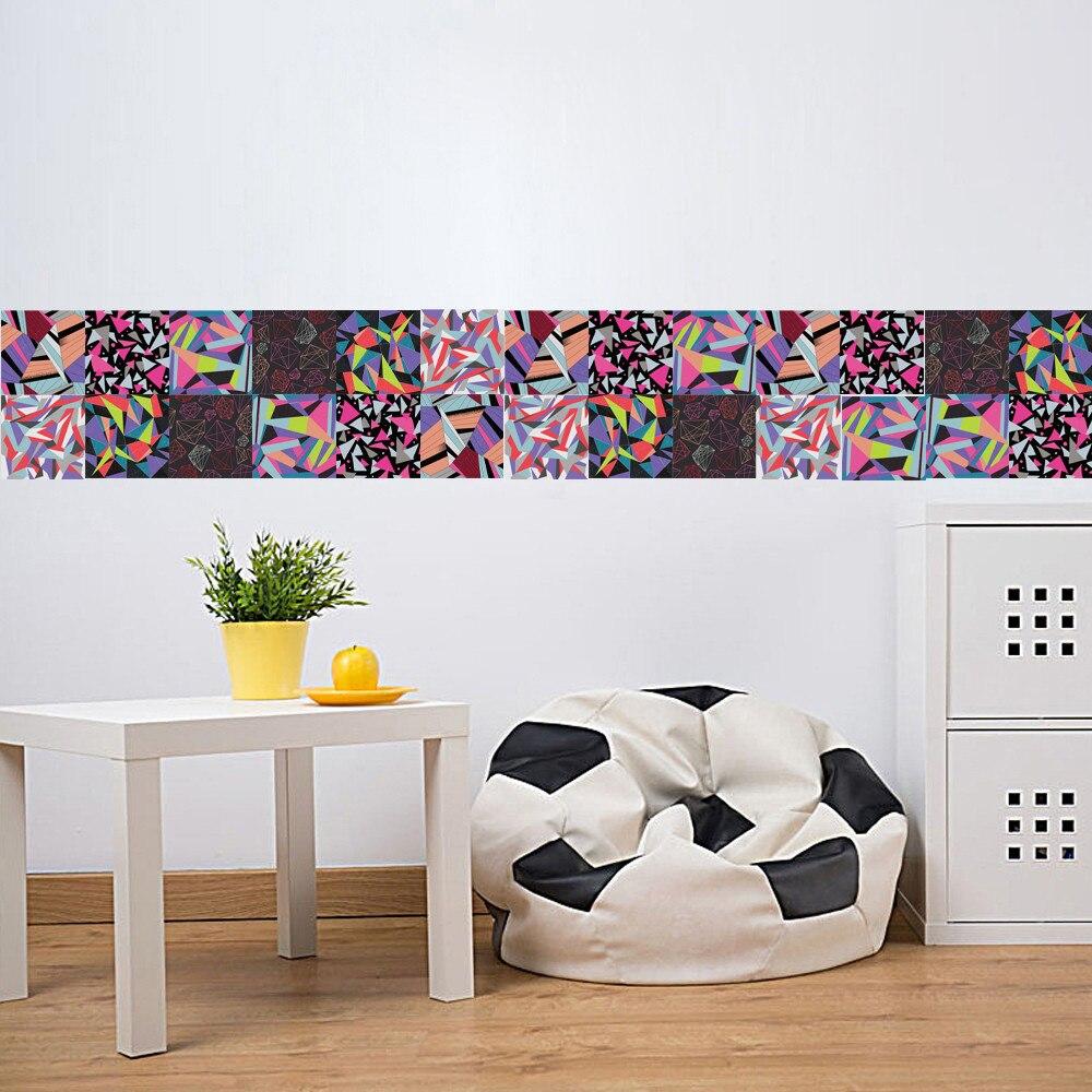 6 Stücke Selbstklebende Fliesen Kunst Wandtattoo DIY Küche ...