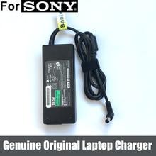 90W 19.5V 4.7A 원래 AC 어댑터 전원 공급 장치 배터리 충전기 소니 바이오 PCG 3G2L PCG 7162L 노트북