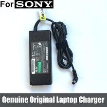 90W 19.5V 4.7A Original AC Adapterแหล่งจ่ายไฟสำหรับSony Vaio PCG 3G2L PCG 7162Lแล็ปท็อป