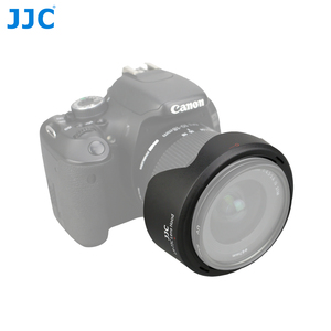 Image 2 - JJC LH 73C עדשת הוד הפיך פרח צל עבור Canon EF S 10 18mm f/4.5 5.6 הוא STM עדשה מחליף CANON EW 73C