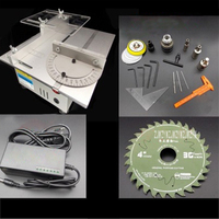 New Multifunction Mini Table Handmade Woodworking Bench Lathe Electric Saw High Precision Table Saw DC 24V