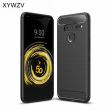 For LG V50 Case shockproof Luxury Armor Rubber Soft Silicone Phone Back Cover Fundas