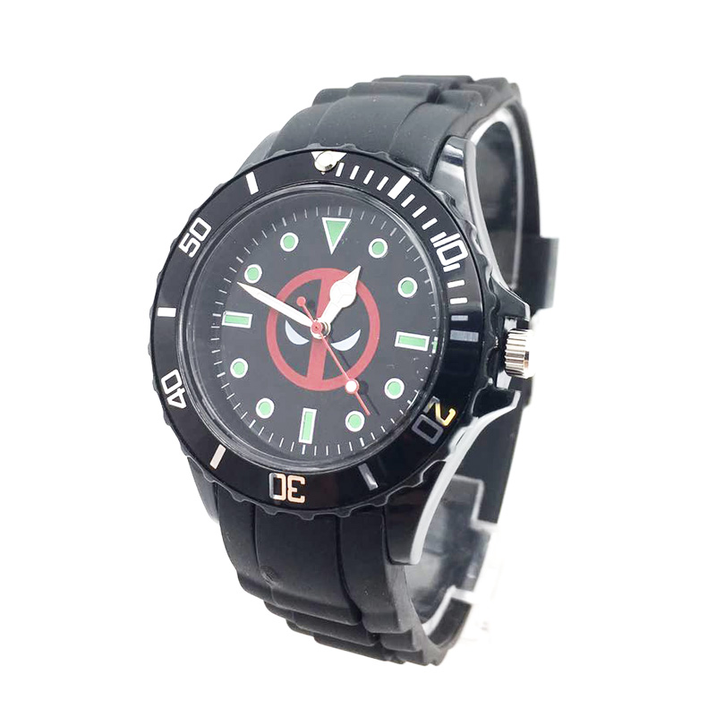 The Avenger Captain America students watches quartz wrist watch for kids cool boys clock black pu strap drop shipping (22)