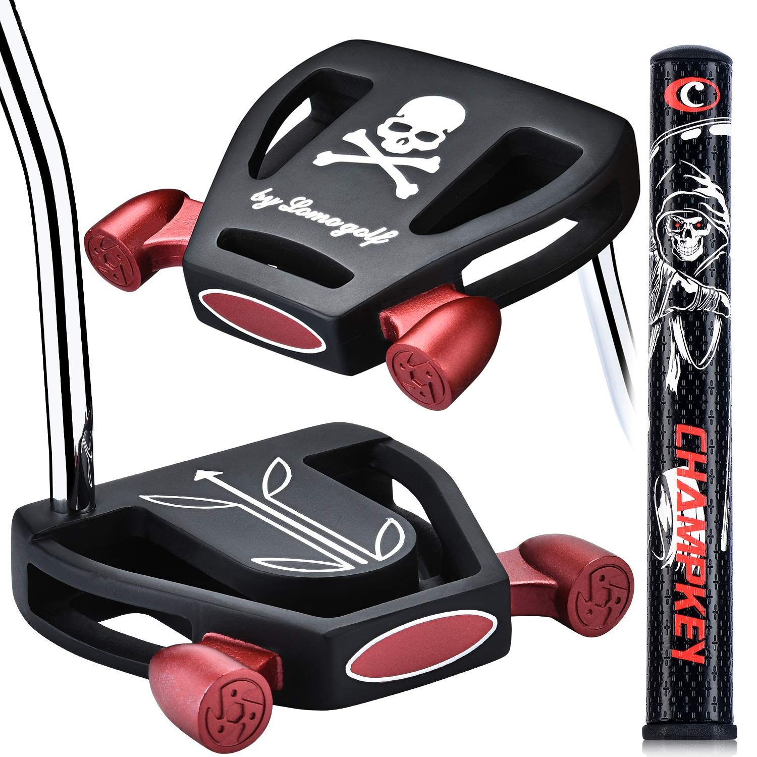 Champkey Golf 2019 Skull Putters (Right Hand)