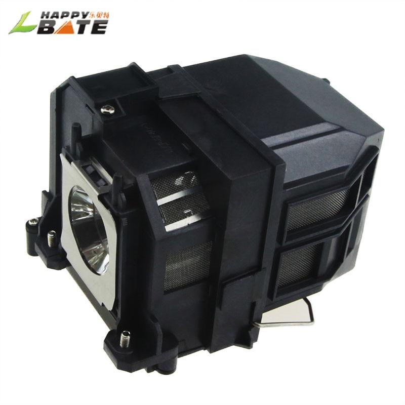 HAPPYBATE ELPLP71 EB-470 EB-475W EB-1410WI EB-475W EB-480 EB-485WI BrightLink 475Wi  480I Projector Lamp With Housing V13h010l71