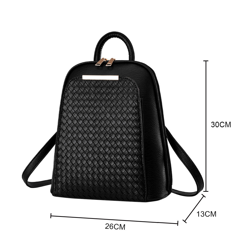 Aelicy Luxury Women Backpack New Tide Female Women Laptop Backpacks Large Capacity Pu Leather School Bags Teenager Girls #2