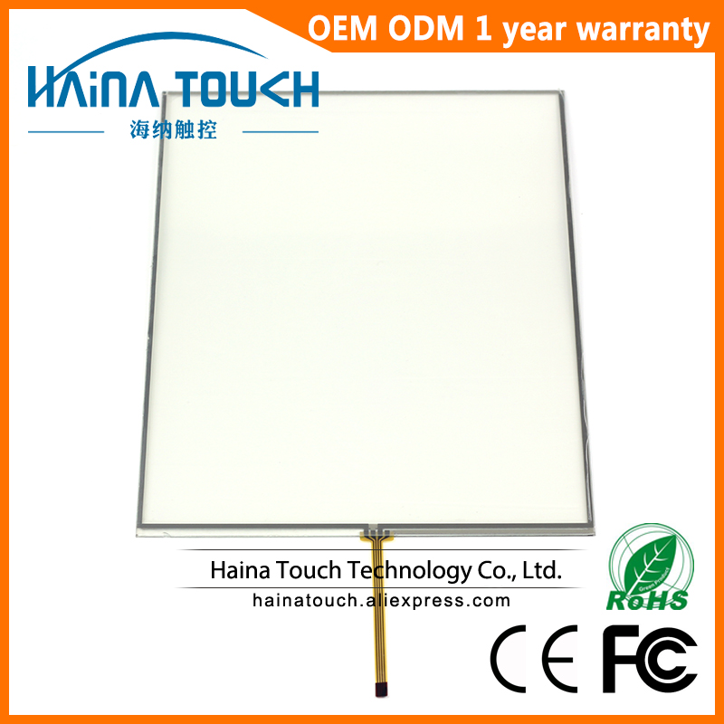 12 inch Resistive Touch Screen Panel Mini Connector, 4 Wire USB Touch Panel kit 5 7 inch 4 wire touch screen glass new