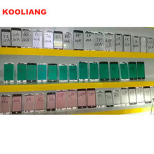Good Front Outer Glass with Frame Bezel + OCA For iphone 5 6 6plus 6s plus 7 7plus 8 Glass+frame +OCA lcd repair part
