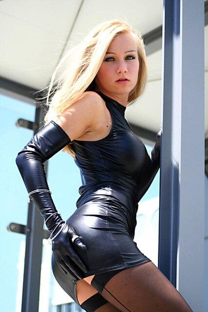 8479d756db0 Aliexpress.com : 신뢰할수 있는 leather mini dress 공급업체Linda Drop ...