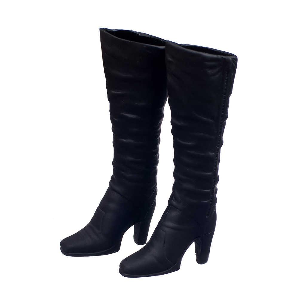 1:6 skala buty na wysokim obcasie wysokie buty kostium stroje dla 12 cal Phicen PH/gorące zabawki HT / JIAOU / CY dziewczyny figurka