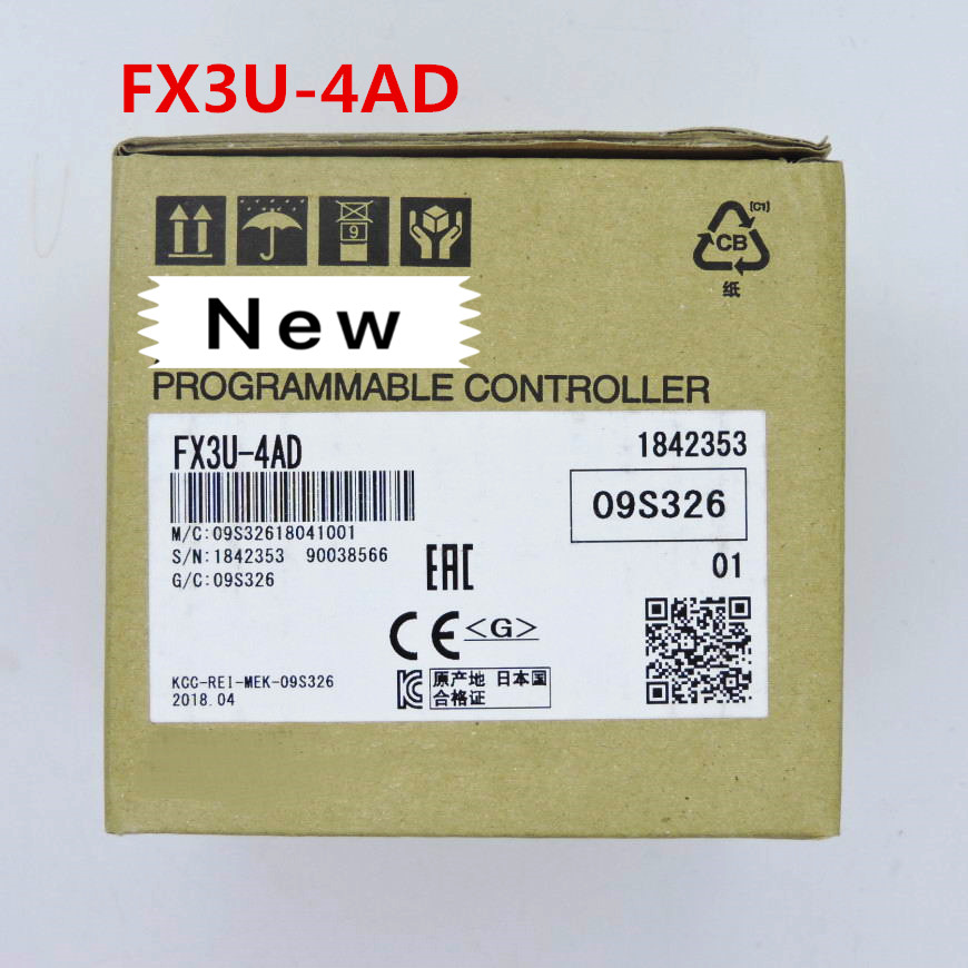 1 year warranty  New original  In box    FX3U-4DA   FX3U-4AD   FX3U-2HC    FX3U-4AD-TC-ADP1 year warranty  New original  In box    FX3U-4DA   FX3U-4AD   FX3U-2HC    FX3U-4AD-TC-ADP