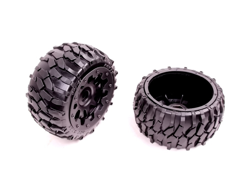 Baja 5B Macadam Rear Tires set tire set wheel set for HPI KM Rovan front sand buster tyres tire set with nylon wheel 2pcs for baja 5b hpi km rovan