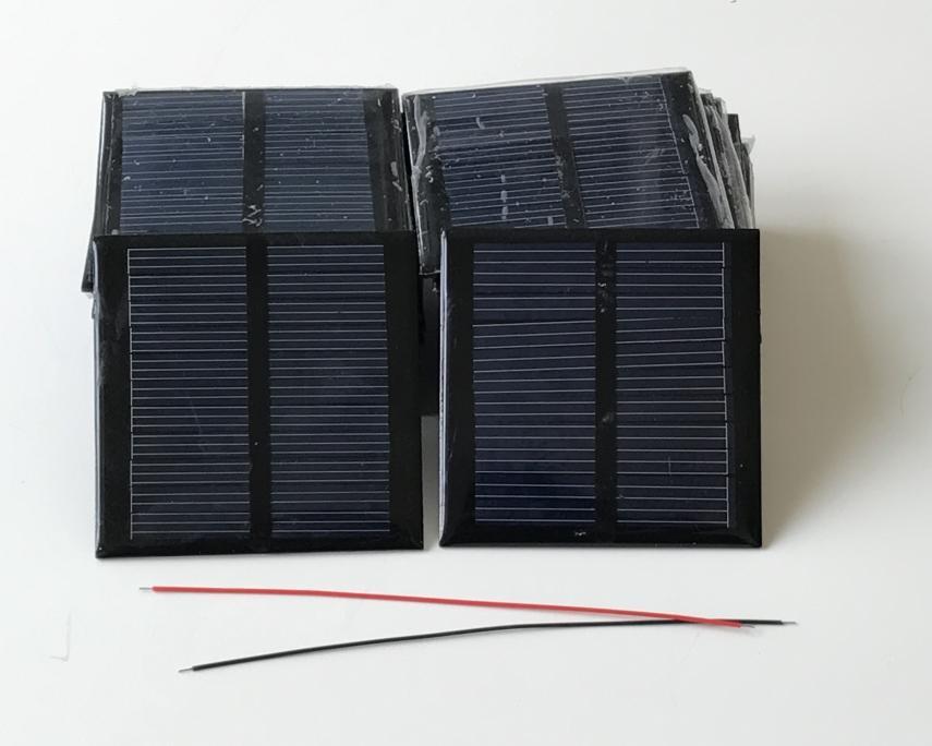 solar panel 0.6W 5.5V for DIY solar Light solar charger Epoxy solar panel 2pcs/Lot