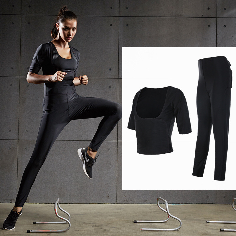 Women Yoga Top Sports Pants Sport Suit Yoga Set Running Fitness Training Clothing for Women Fitness Sportswear Lose Fat 2 pcs 2 pcs sport suit pants jackets women mens sports suits sport wear women running clothes for men sport set fitness gym couples