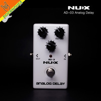 2017 New NUX AD 3 Delay Guitar Effects Pedal Analog Delay Effect 800ms Warm And Smooth