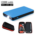 12000mAh Mini Car Jump Starter Portable Blue Emergency Charger Battery Booster Power Bank for Car Mobile Tablet Camera CS009BU