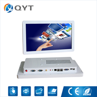 15 6 Widescreen Capacitive Touch Desktop All In One Pc Case Win7 8 10 Cpu Intel