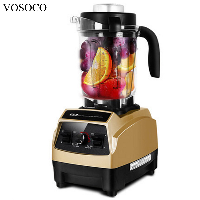 VOSOCO Blender Mixing machine Ice crusher Sand ice machine 1500W Milkshake Soybean Milk  juicer Breaking machine Food processor
