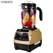 VOSOCO Blender Mixing machine Ice crusher Sand ice machine 1500W Milkshake Soybean Milk  juicer Breaking machine Food processor