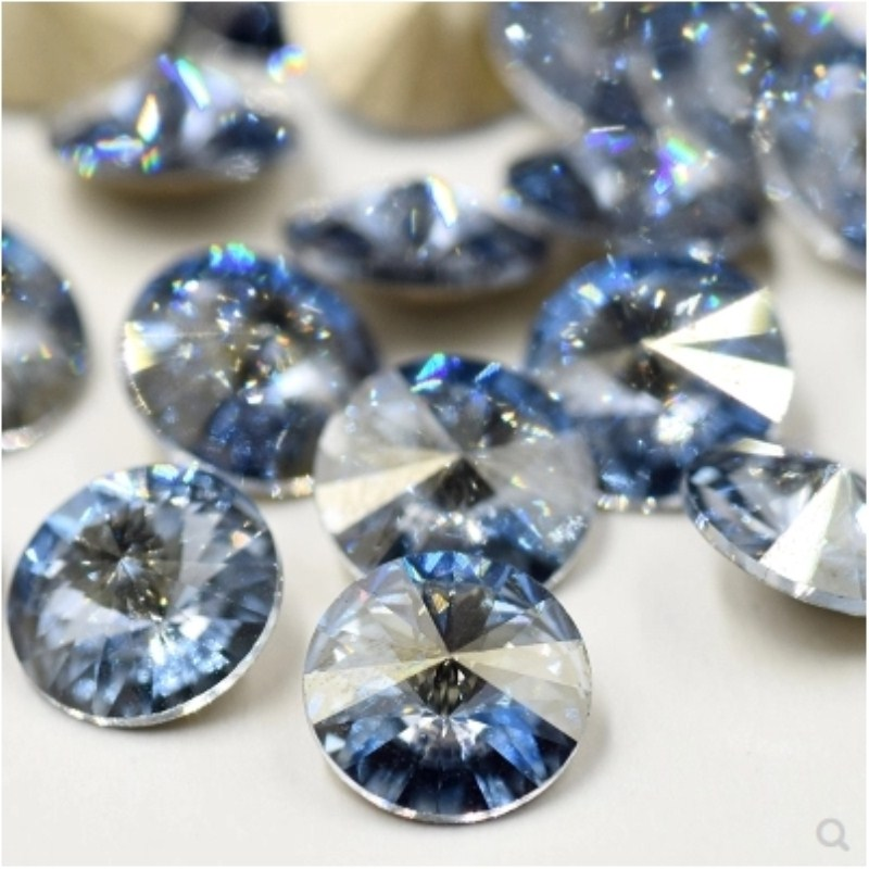 Crystal Clear Heart Shape Crystal Fancy Stone Point Back Glass Stone For Diy Jewelry Accessory.8mm 10mm12mm 14mm 16mm 18mm 23mm Lustrous Beads
