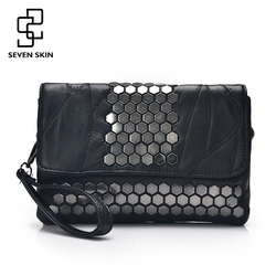 Seven skin brand women messenger bags genuine leather female handbag fashion designer high quality clutch shoulder.jpg 250x250